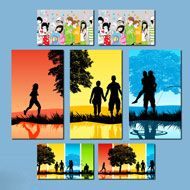 Fill your empty walls with stunning #CanvasWallDisplays