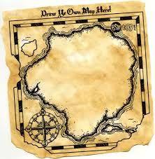 Tutorial para hacer invitaciones de mapa del tesoro.