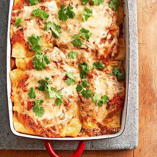 Enchiladas Suizas using rotisserie chicken
