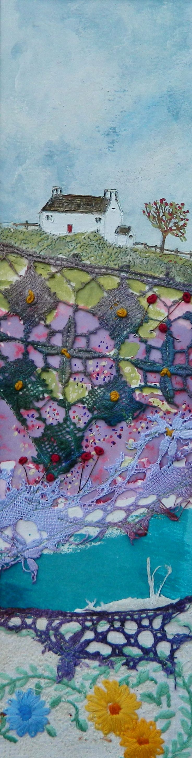 ''Across the quilted meadow'' By Louise O'Hara