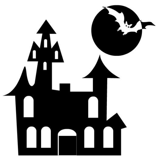 107 best Halloween Silhouette images on Pinterest | Silhouettes ...