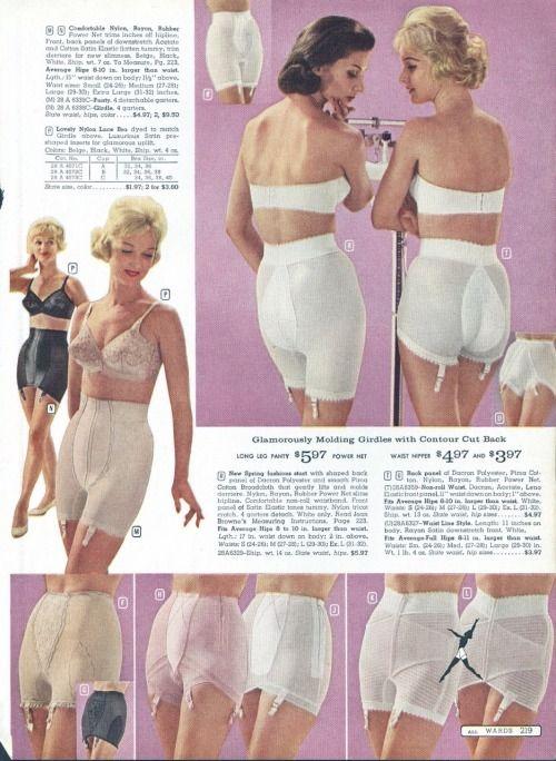 "girl-o-matic: """"Vintage lingerie catalog page - via (X) "" """