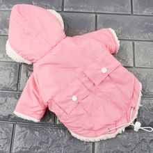 Winter Dog Clothes for Small Dogs Warm Pet Coats Jacket Dog Clothing French Bulldog Chihuahua Pet Clothes 10dy30(China)