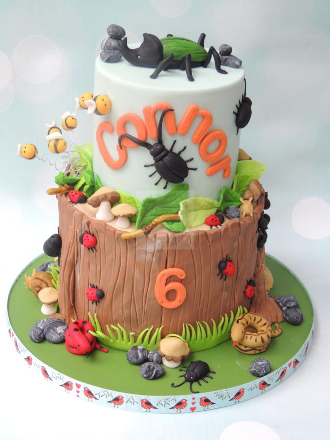 35 best reptile cake images on pinterest petit fours animal creepy crawlies cake by shereen pronofoot35fo Choice Image