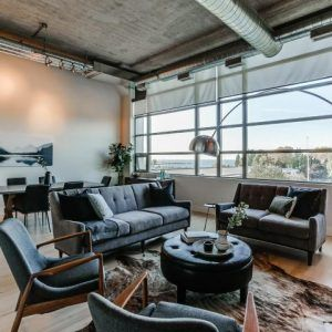 Welcome To The Tip Top Lofts, The Quintessential Loft Conversion, Located In The Former 1920'S Men's Clothing Building. This Is Arguably One Of The Best & Most Iconic Buildings In Downtown Toronto, Known For Its Beautiful Art Deco Design. This Stunning Unit Showcases The Beauty Of A True Hard Loft With Features Such As 13 Foot Ceilings, Exposed Concrete & Beams, Sliding Barn Doors, And Hardwood Flooring Throughout. MLS: C3960406 Status: For Sale Price: $825,000 Bedrooms: 1+1 Bathrooms: 1