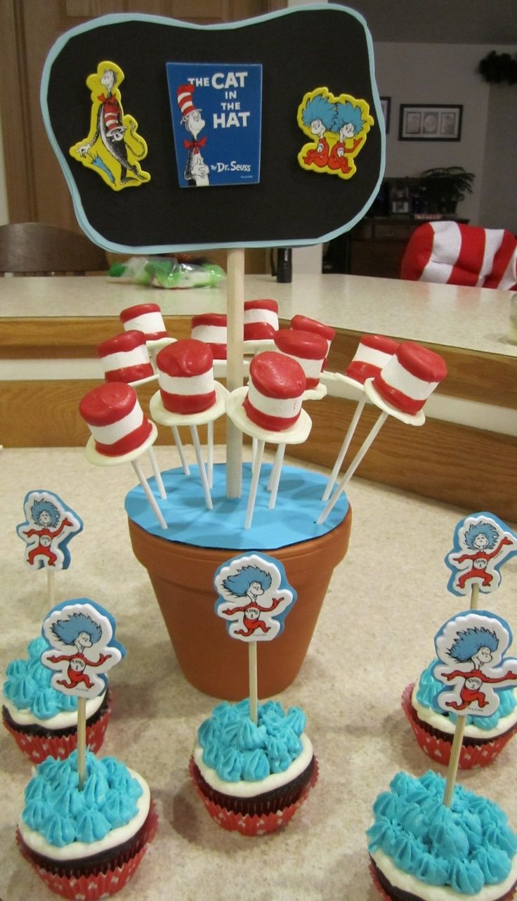 dr seuss day treats | Dr. Seuss Day treats for our Guest Readers | Dr suess