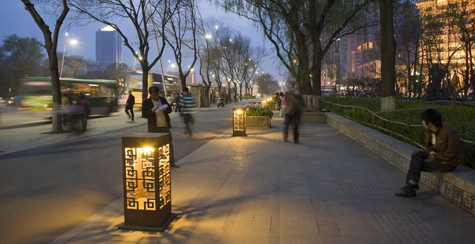 AECOM - Design + Planning - Practice Areas - Landscape Architecture - Yingze Streetscape Design