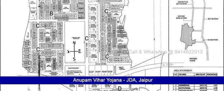 Anupam Vihar jda 275 sq mtr Residential Plot for Sale Near Sez Ajmer Road Jaipur https://www.gurukripajaipur.com/anupam-vihar-jda-275/