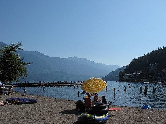 Main Beach, Cultus Lake #summer #Cultus