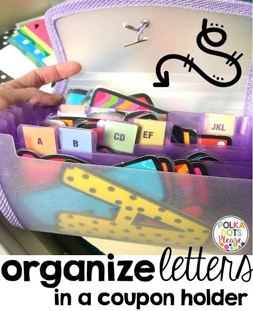 Organize bulletin board letters and lots of tips and tricks to for easy classroom organization