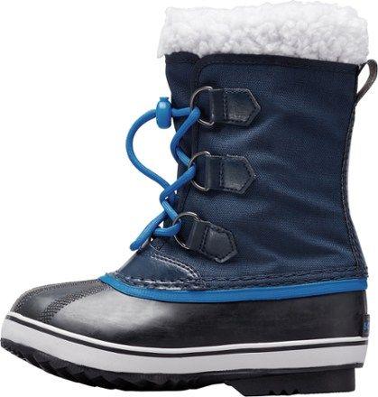 Sorel Yoot Pac Nylon Winter Boots  Collegiate Navy 4 Kids