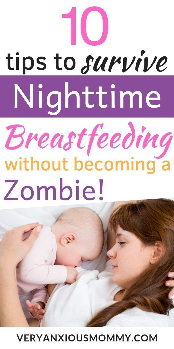10 Tricks to Survive Nighttime Breastfeeding With out Shedding Hours of Sleep