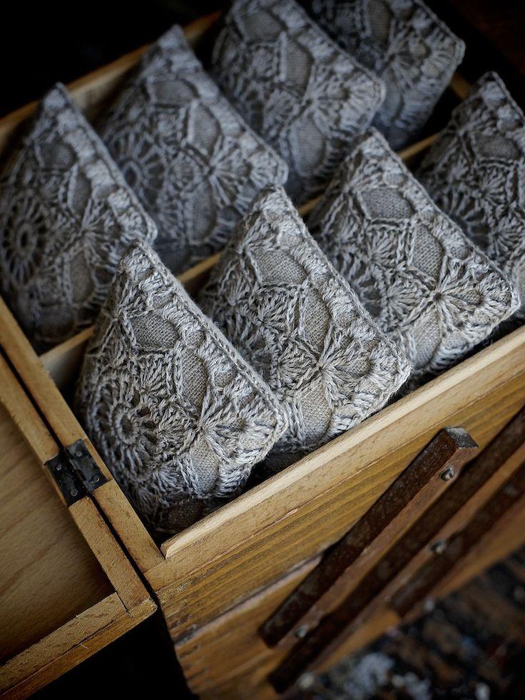 Lavanta keseleri ( çekmece içi mini lavanta yastıkları)