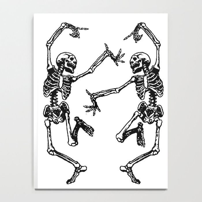 Duo Dancing Skeleton Notebook Friend Tattoos Tattoo Flash Art Maching Tattoos