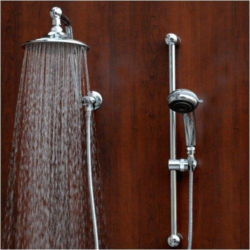 rain shower head with hand held yup for the home