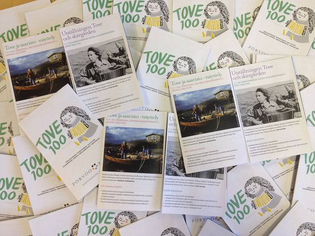 Tove 100 jubilee year flyers