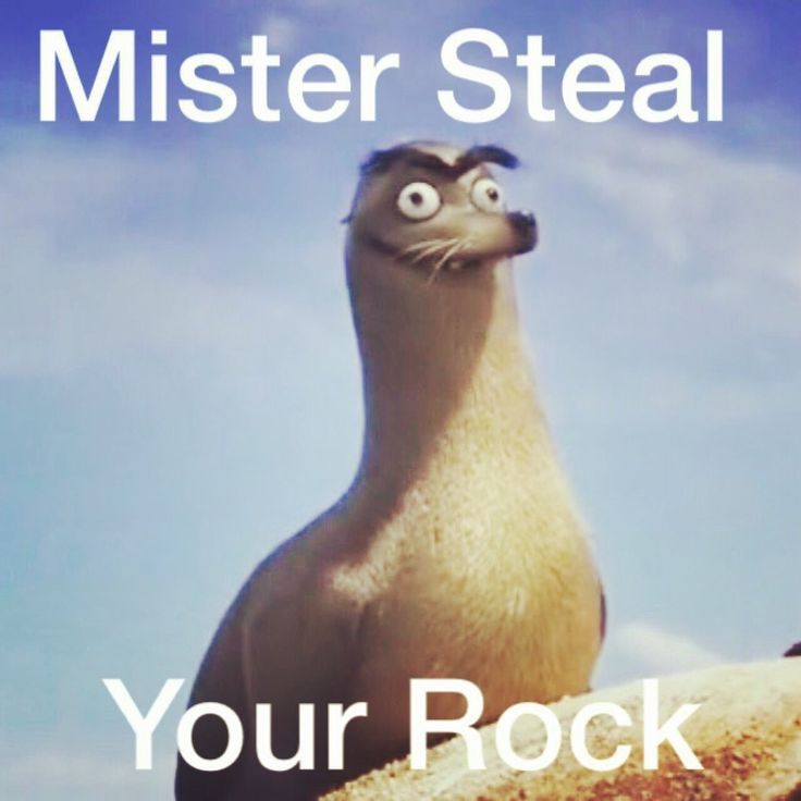 """I thought it said """"mr seal you rock"""" then it got better and better as I figured it out"""