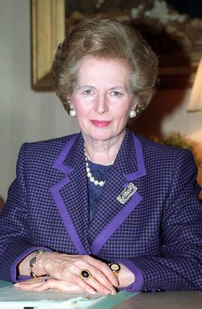 Margaret Thatcher - Became Britain's Conservative Party leader and in 1979 was elected prime minister, the first woman to hold the position.