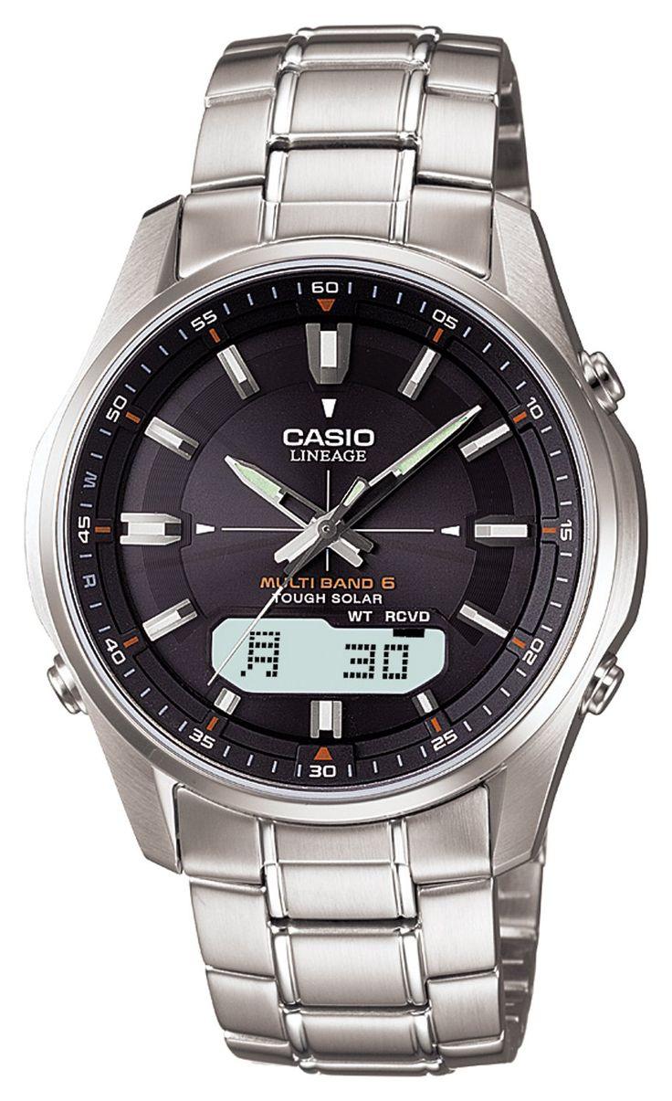 ] CASIO watch LINEAGE lineage tough solar radio watch MULTIBAND 6 LCW-M100D-1AJF men's watch. ] CASIO watch LINEAGE lineage tough solar radio watch MULTIBAND 6 LCW-M100D-1AJF men's watch.