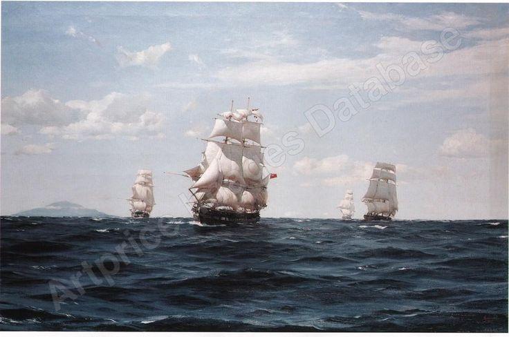 The flying squadron of the old school, venta por subasta de thomas jacques somerscales