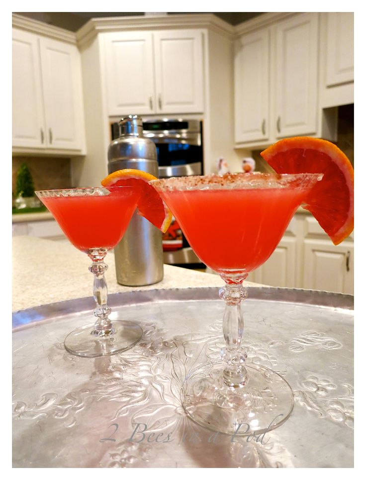 Blood orange martini recipe liquor simple syrup and for Drinks with simple syrup and vodka