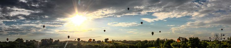Open the Skies Mass Ascension event at the 2015 National Balloon Classic in Indianola, Iowa