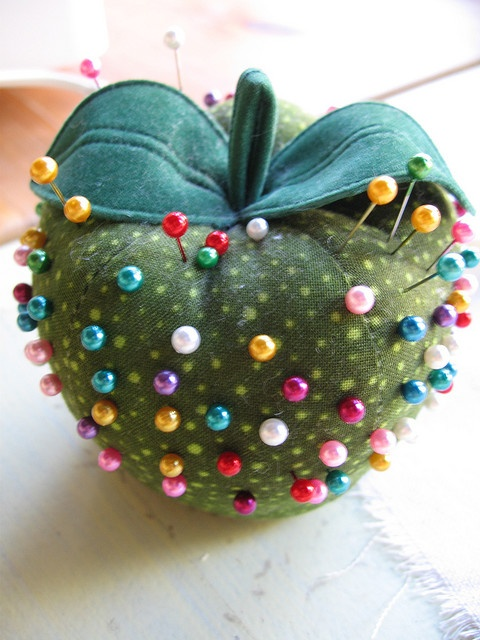 How cute is this polka dotted apple???