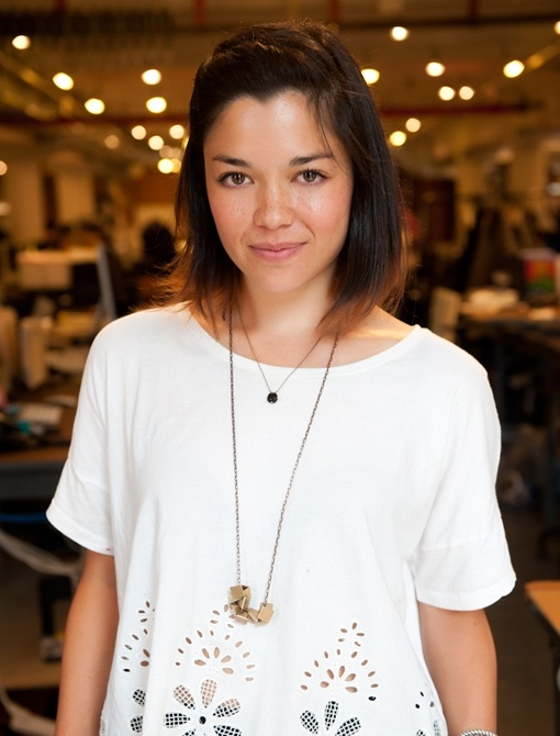 Super cute this chick....Dainty Necklaces, Length Hairhairhair, White Shirts, Fashion Offices, Rag And Bones, Accessories, Long Necklaces, Hair Length, Blog Lauren Bucquet 18 Editing