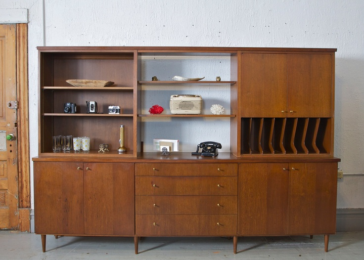 Mid Century Modern Wall Unit Desk Hutch China