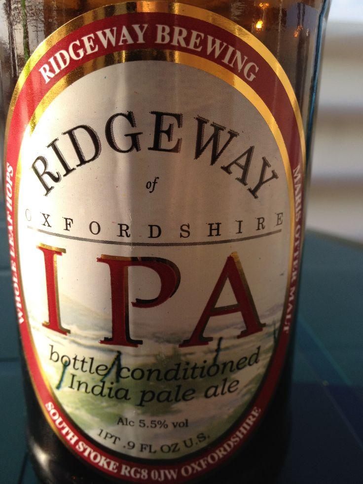 Ridgeway IPA  Ridgeway Brewed at Hepworth Style: Premium Bitter/ESB Reading, England