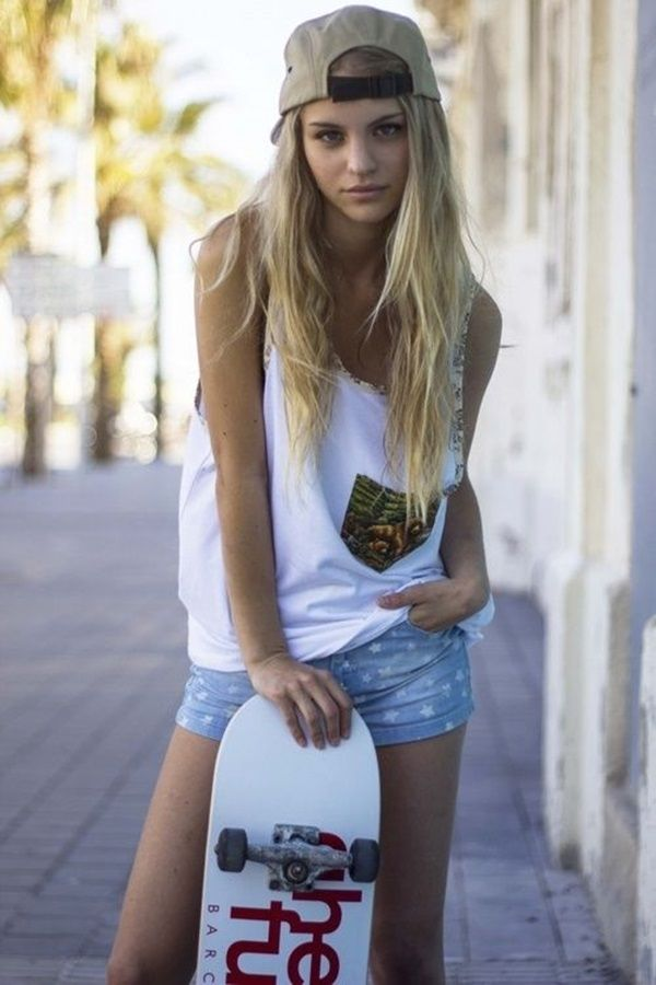 Clothes With Cute Blond Teen 78