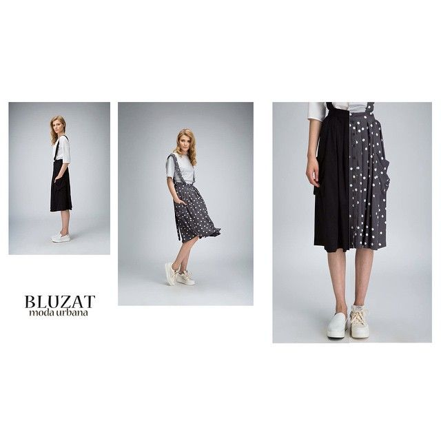 Be chic and casual this summer with the midi skirt. The suspenders and pockets makes it a must have. http://www.bluzat.ro/?p=18621 #bluzat #ootd #summer #feelgood #modaurbana #potd #fashion #bucharest