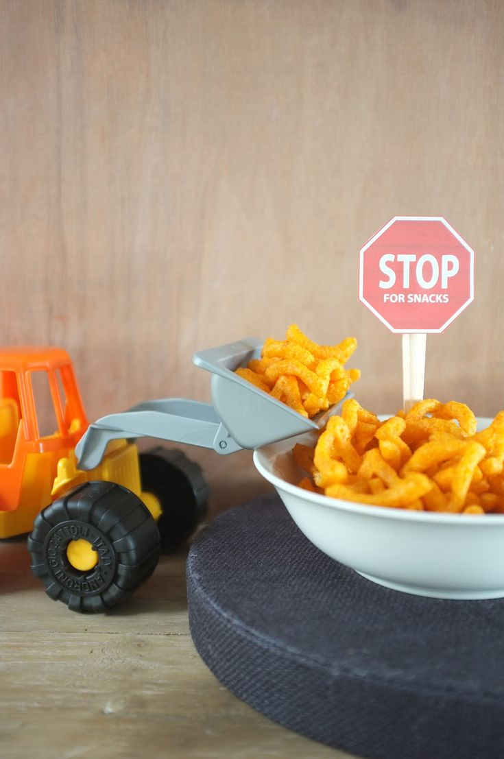 25  best ideas about construction party foods on pinterest
