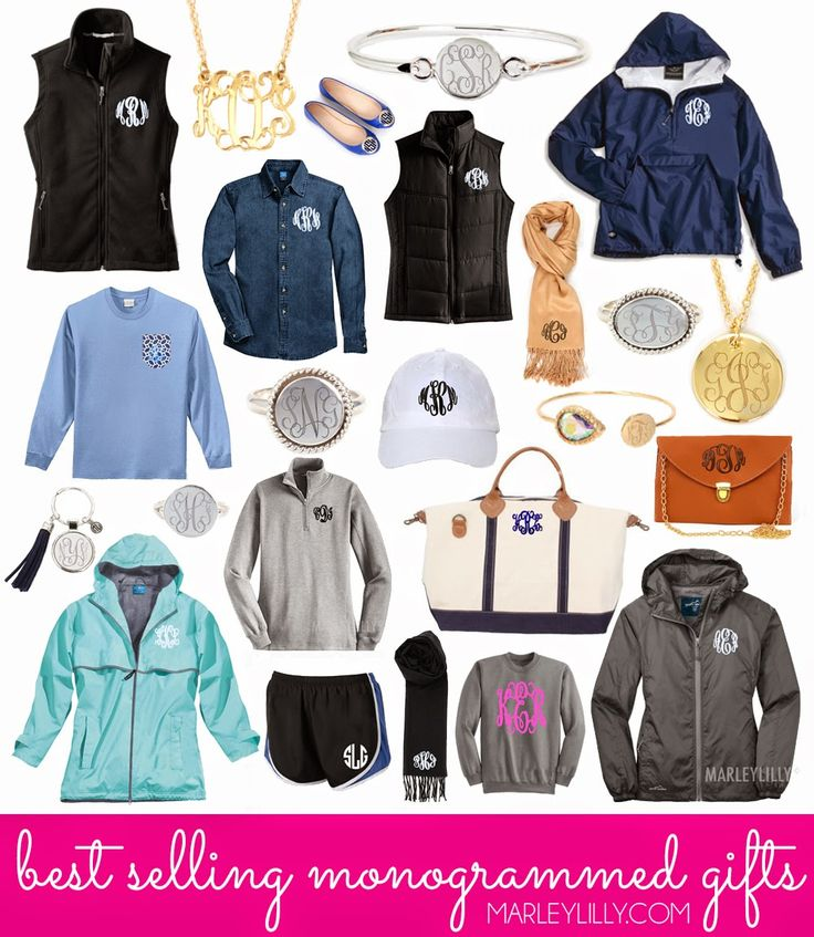 Best Selling Monogrammed Gifts from Marleylilly.com