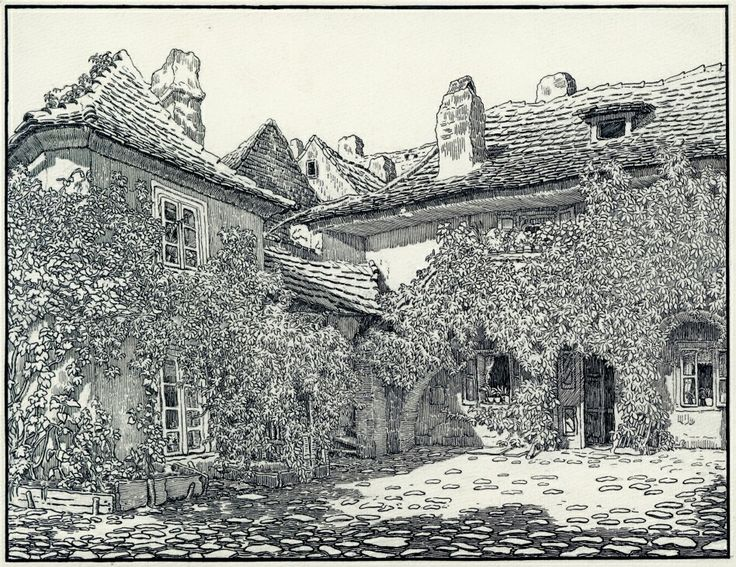 Ve dvoře domu č. 814 U Milosrdných. Jihozápadní součást souboru budov Anežského kláštera na adrese U Milosrdných 17 je v dnešní době oficiální adresou