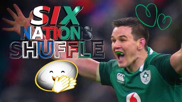 Six Nations Shuffle: Slips, skills, jigsaw-ish players & a last-gasp winner  ||  Watch the quirkier moments from the Six Nations, featuring 'jigsaw-ish' players, embarrassing parents, Nigel Owens on top form and a dramatic last-gasp winner. http://www.bbc.co.uk/sport/rugby-union/42940247?utm_campaign=crowdfire&utm_content=crowdfire&utm_medium=social&utm_source=pinterest