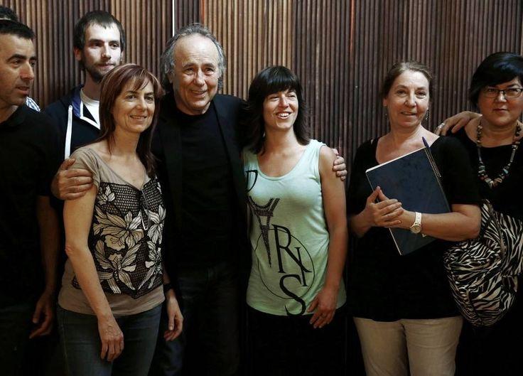 Rueda de prensa en el Baluarte (Pamplona)  Con los periodistas.