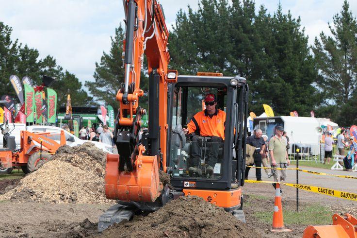 National Excavator Skills challenge 2017