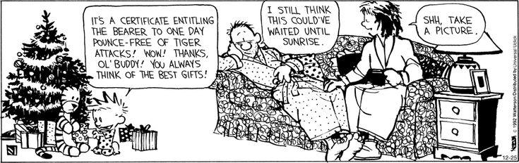 Calvin's adorable. haha
