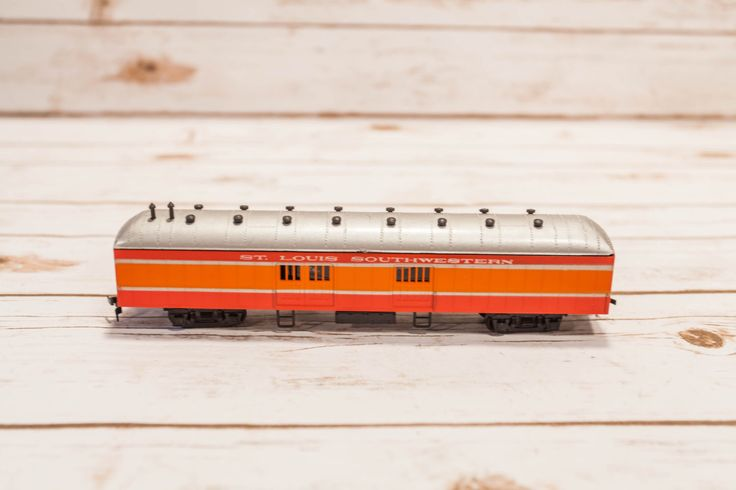 A personal favorite from my Etsy shop https://www.etsy.com/listing/295255565/vintage-st-louis-southwestern-toy-train