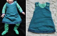 Baby Mädchen Kleid Gr. 50-68 Freebook
