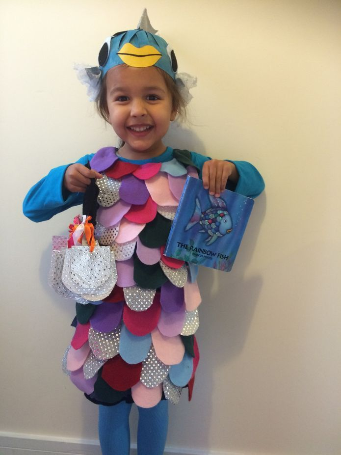 The 25 best rainbow fish costume ideas on pinterest for Baby fish costume