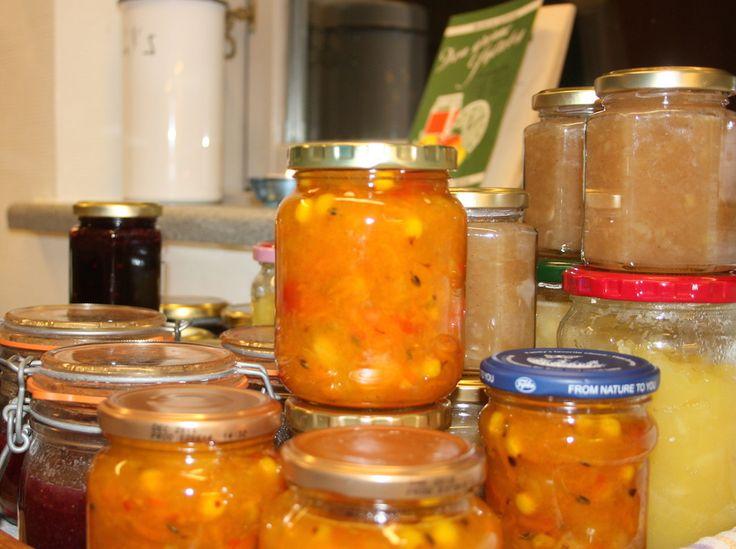 marmelade med hyben og havtorn
