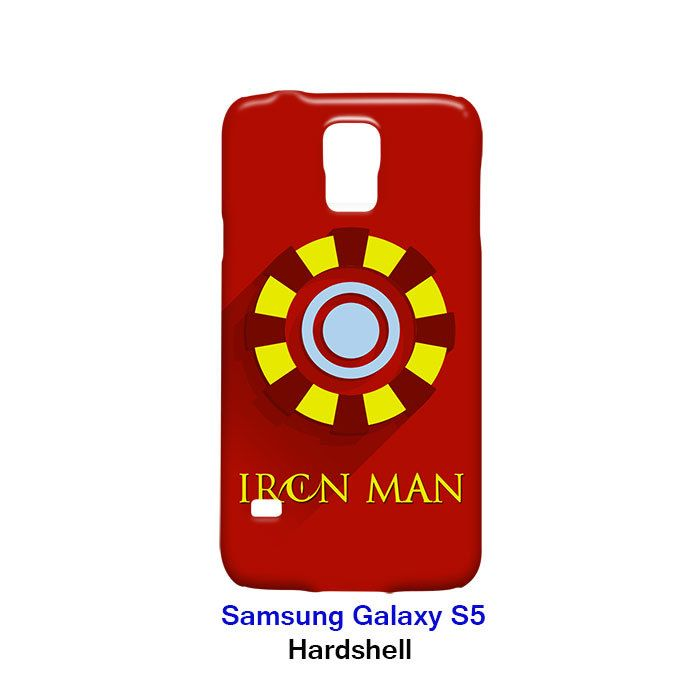 Iron Man Superhero Samsung Galaxy S5 Hardshell Case