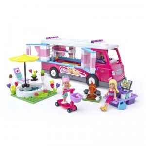 Barbie Build 'n Play Luxe Camper