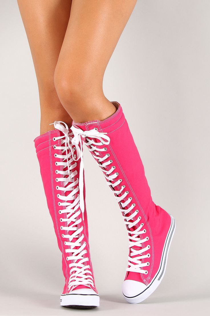 Knee High Sneaker Shoe Laces