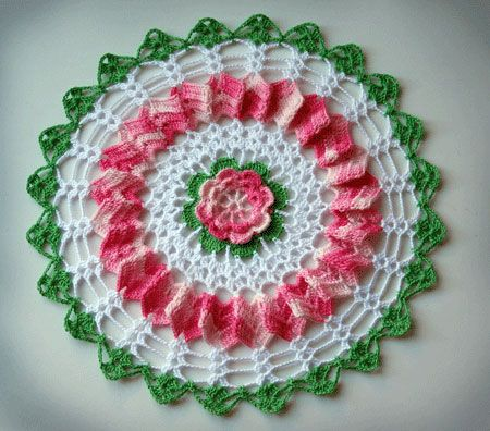 110 Best Crochet Doilies Images On Pinterest Crochet Doilies
