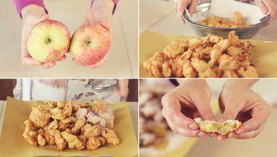 FRITTELLE DI MELA Ricetta Facile – Apple fritters Easy Recipe
