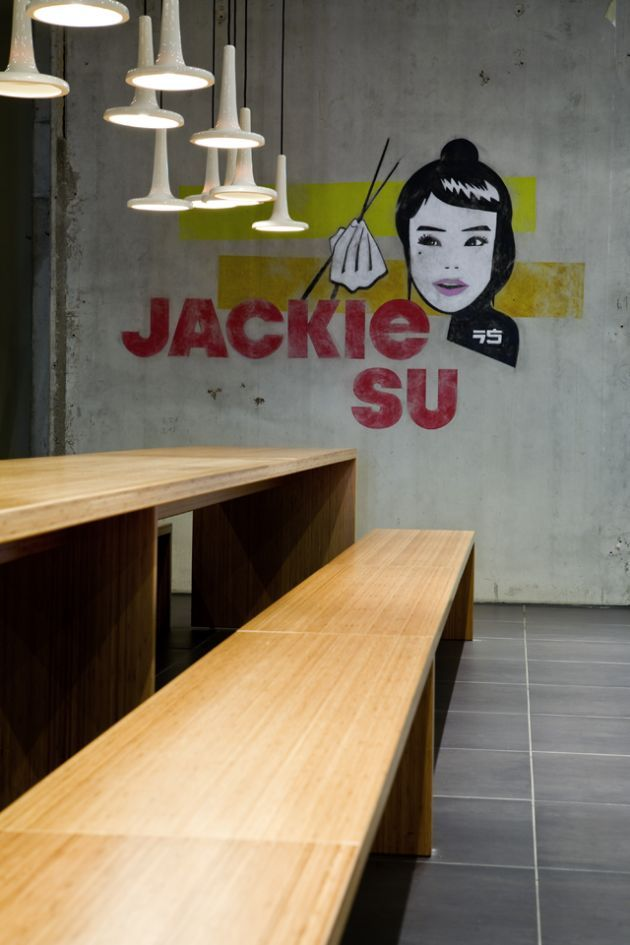 Jackie Su Thai restaurant in Bremen, Germany: German design studio RAUMINRAUM.