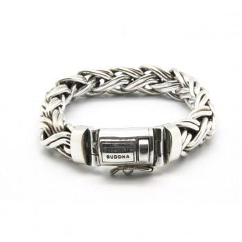 Buddha to Buddha bracelet zilver